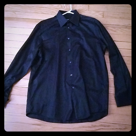 8b14e054 Hugo Boss Shirts | Classy Black Mens Dress Shirt | Poshmark